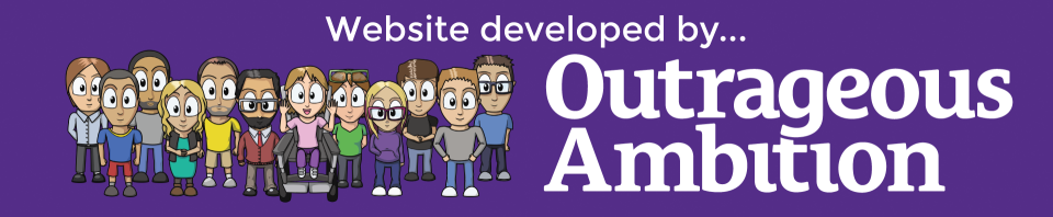 Website developed by Outrageous Ambition